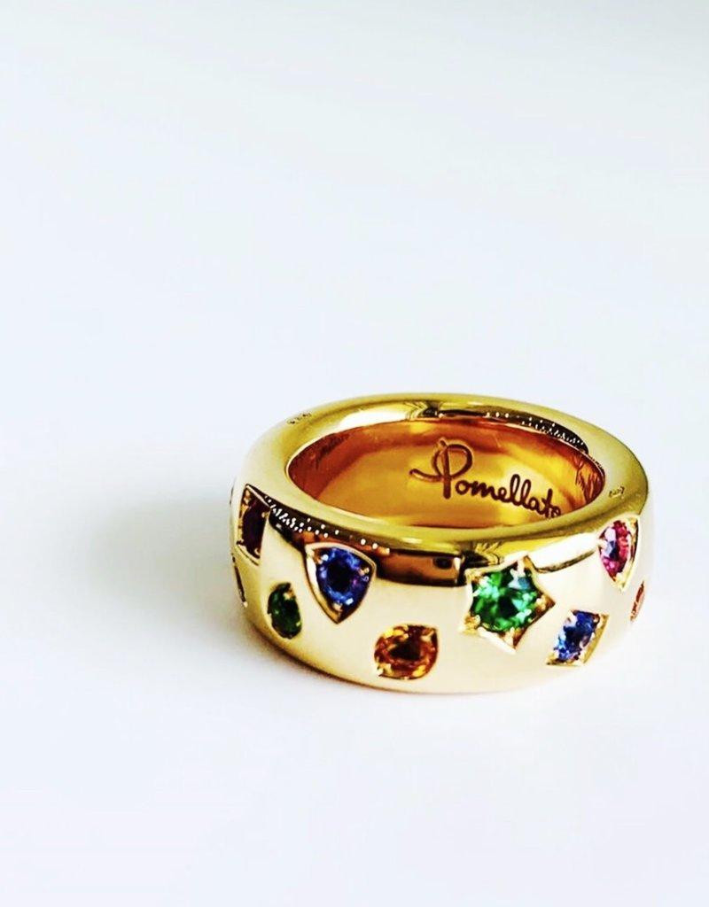 POMELLATO Large Rainbow Iconica Ring