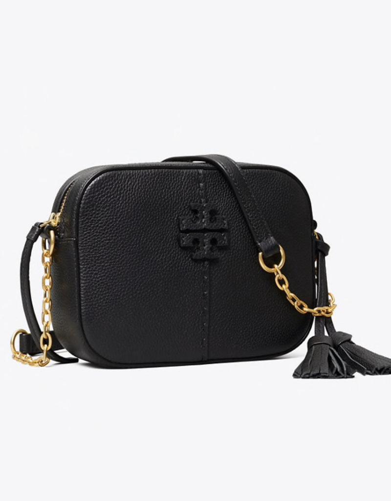 TORY BURCH McGraw Camera Bag - Black