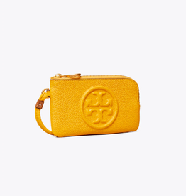 TORY BURCH Perry Bombe Top-Zip Card Case -