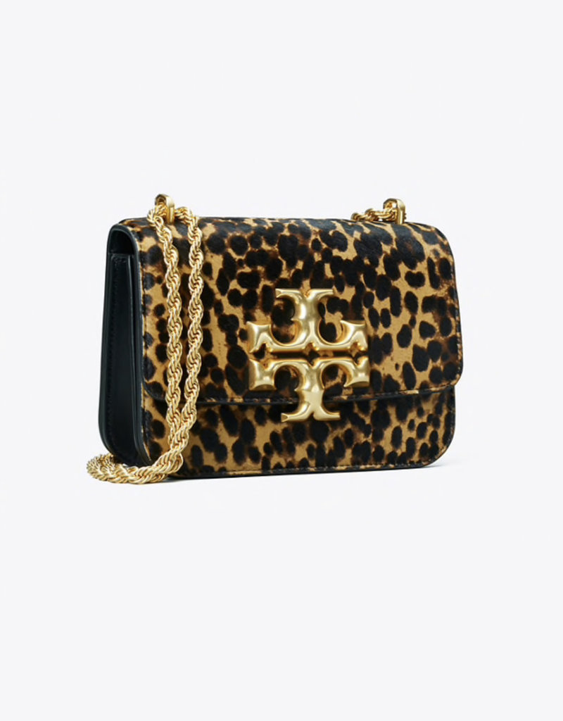 TORY BURCH Eleanor Small Convertible Shoulder Bag - Leopard