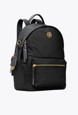 TORY BURCH Piper Flap Nylon Backpack - Black