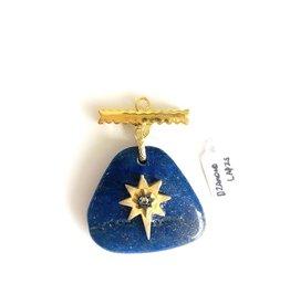 SENNOD Lapis with Diamond Star Vignette
