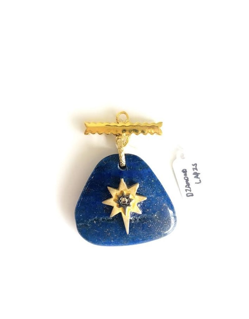 SENNOD Lapis with Diamond Star Vignette