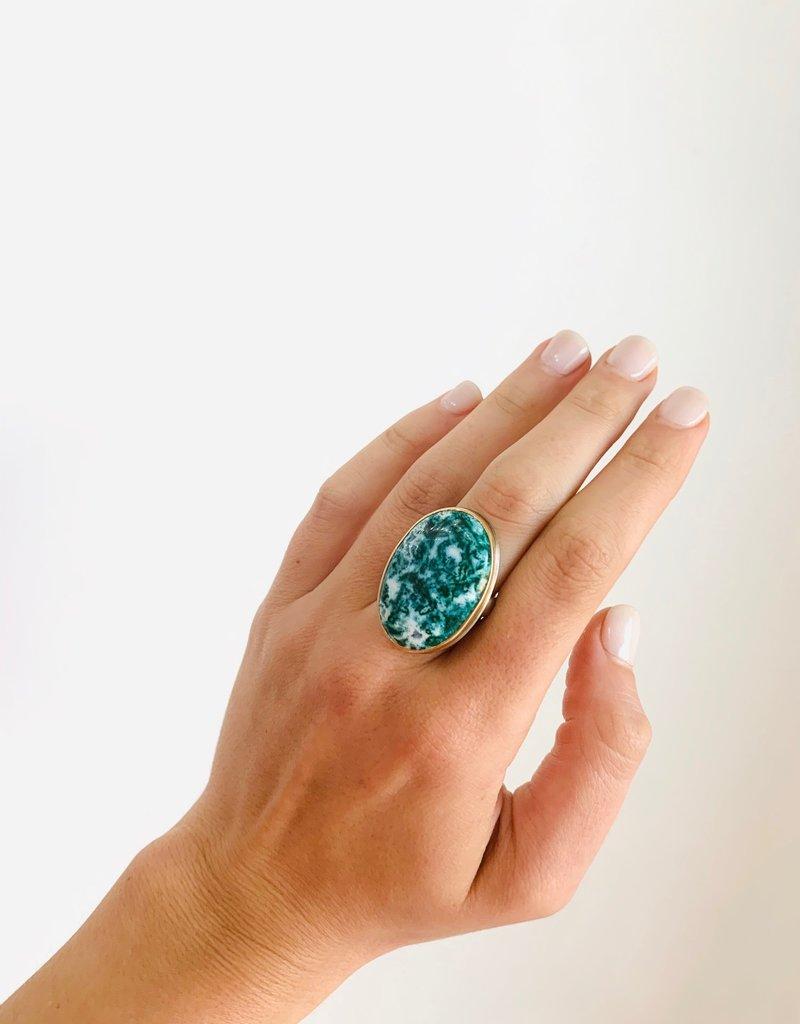 JAMIE JOSEPH Dioptase Ring