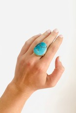 JAMIE JOSEPH Royston Turquoise Ring