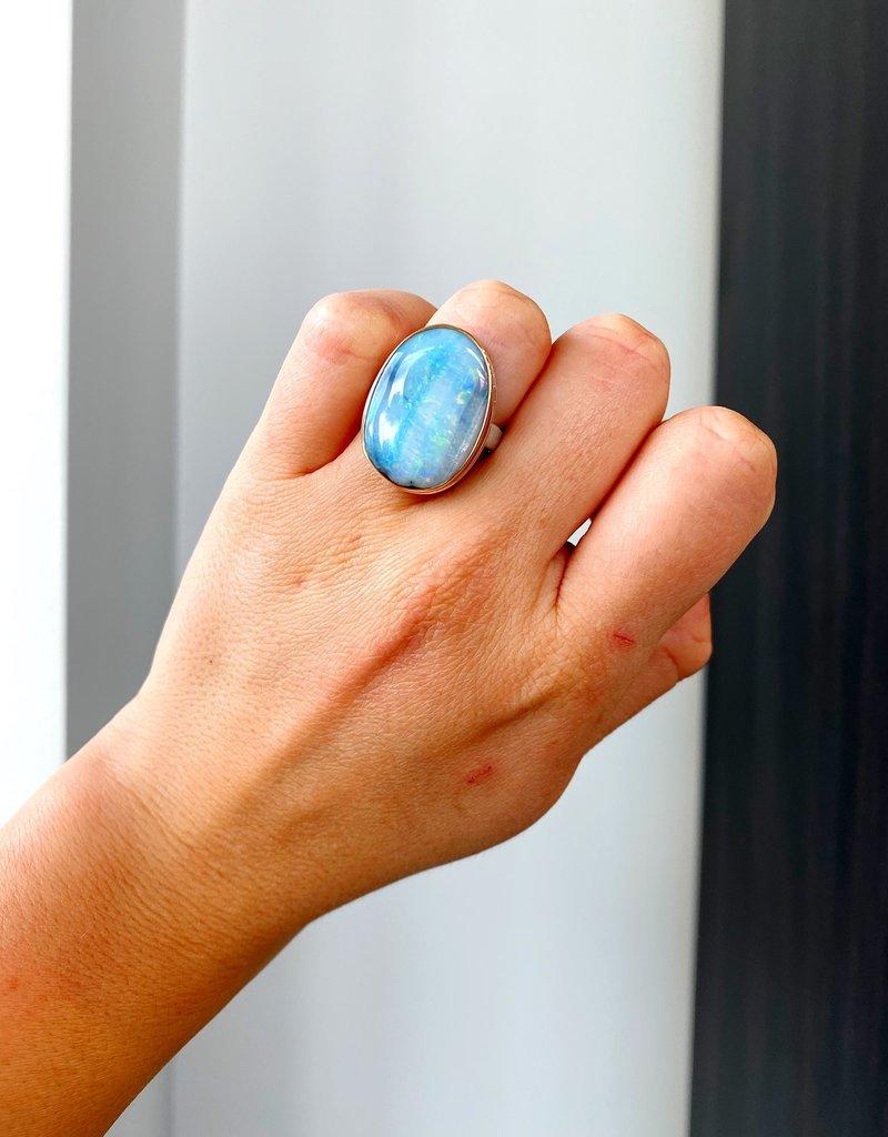 JAMIE JOSEPH TS Boulder Opal Ring - Size 8