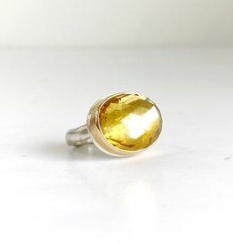 JAMIE JOSEPH Oval Citrine Ring
