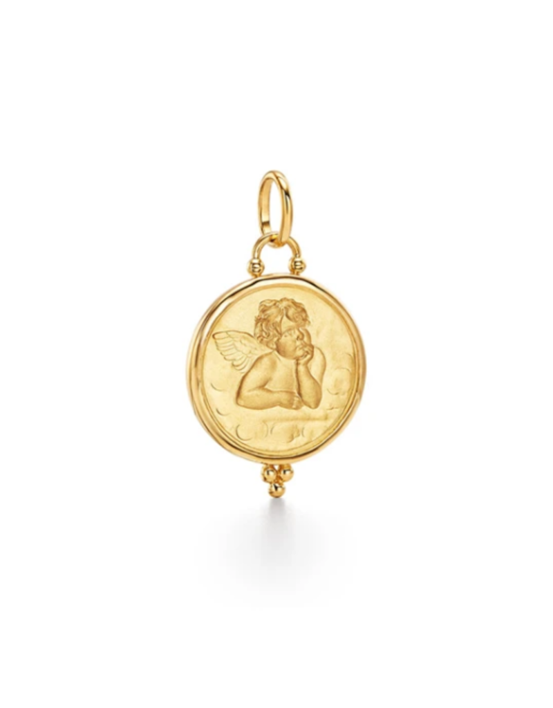 TEMPLE ST CLAIR 10mm Angel Pendant