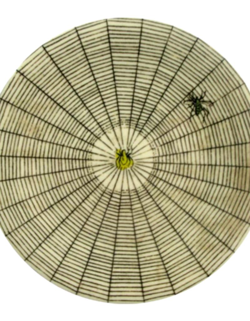 """JOHN DERIAN 7.25"""" Spiderweb Melamine Plate"""