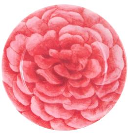 """JOHN DERIAN 7"""" Roses Melamine Dessert Plate"""