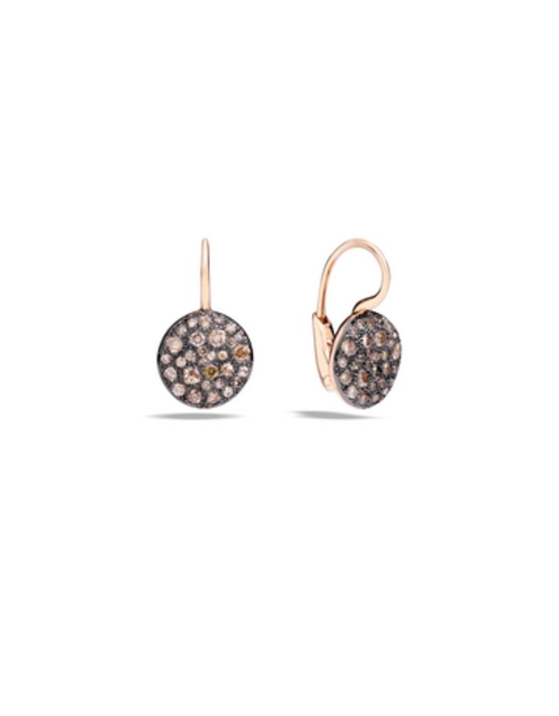 POMELLATO Sabbia Brown Diamond Earrings