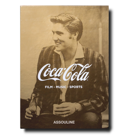 ASSOULINE Coca-Cola Set of Three: Film, Music, Sports