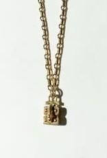"SENNOD Link Vignette Chain - 16"" Gold"