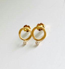 SHAESBY U'amea Stud Earrings