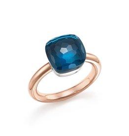 POMELLATO London Blue Topaz Nudo Ring