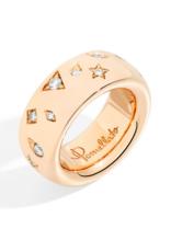 POMELLATO Large Diamond Iconica Ring