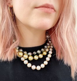 Large Tahitian Classic Pearl Necklace