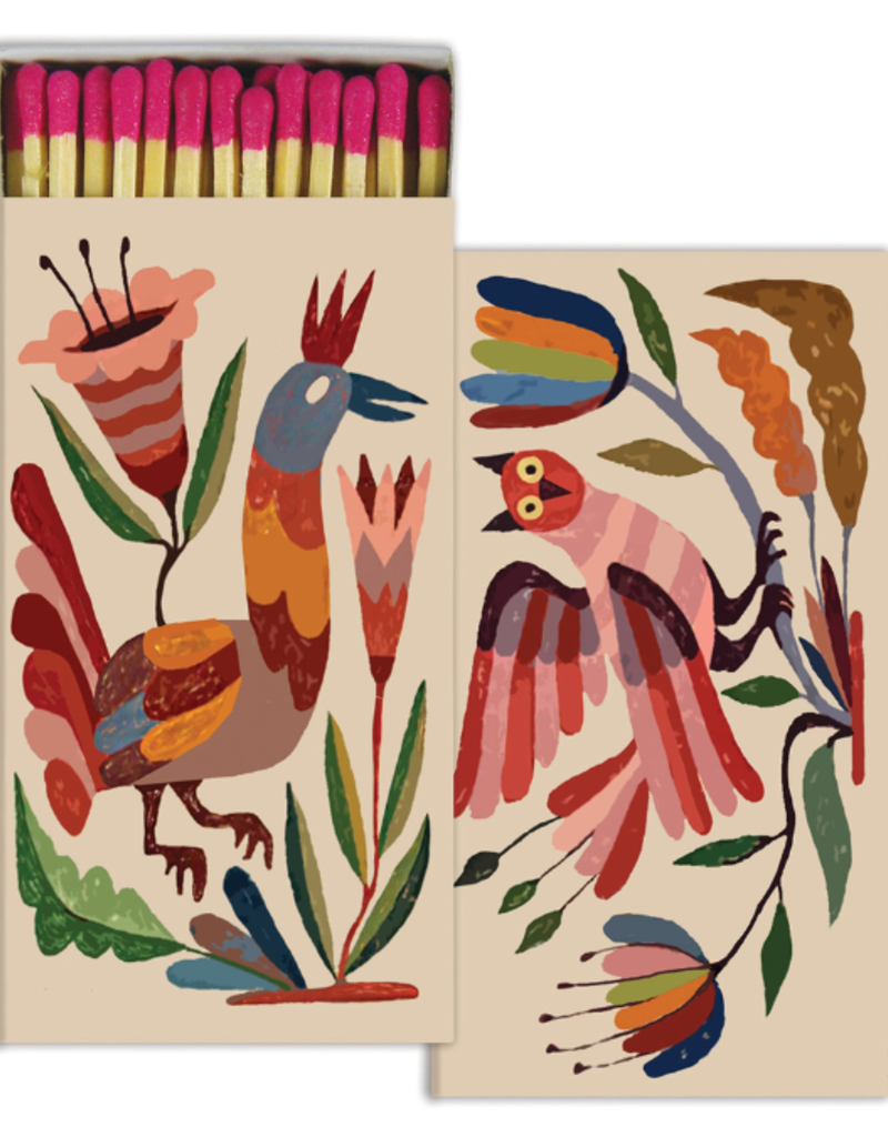 Abel Macias Studio Matches - Mexican Birds