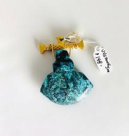 SENNOD Turquoise on Pebble Bar Vignette