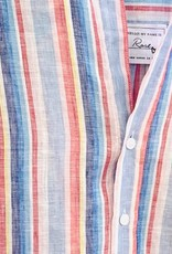 FRANK & EILEEN Rose Linen Short Sleeve Button-down