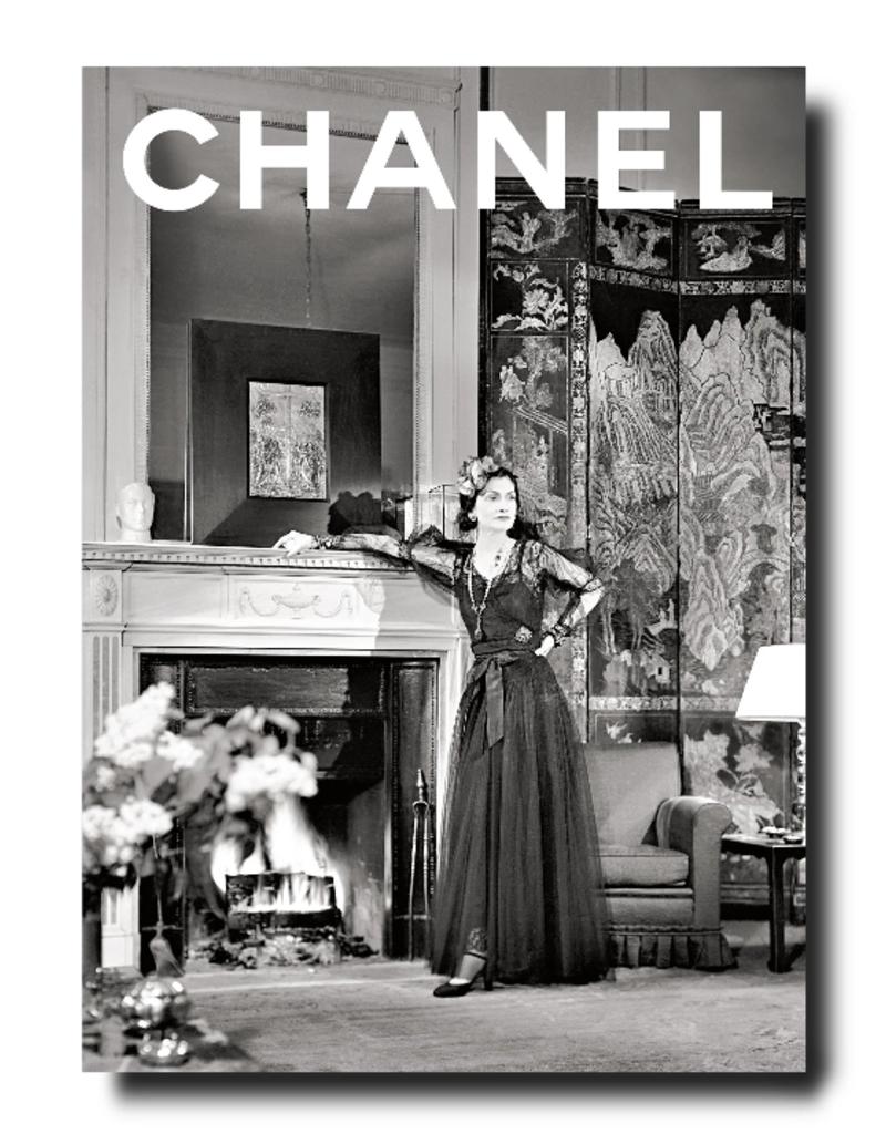 ASSOULINE Chanel Set of 3-Book Slipcase