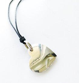 DODO DODO - Silver Heart Pendant