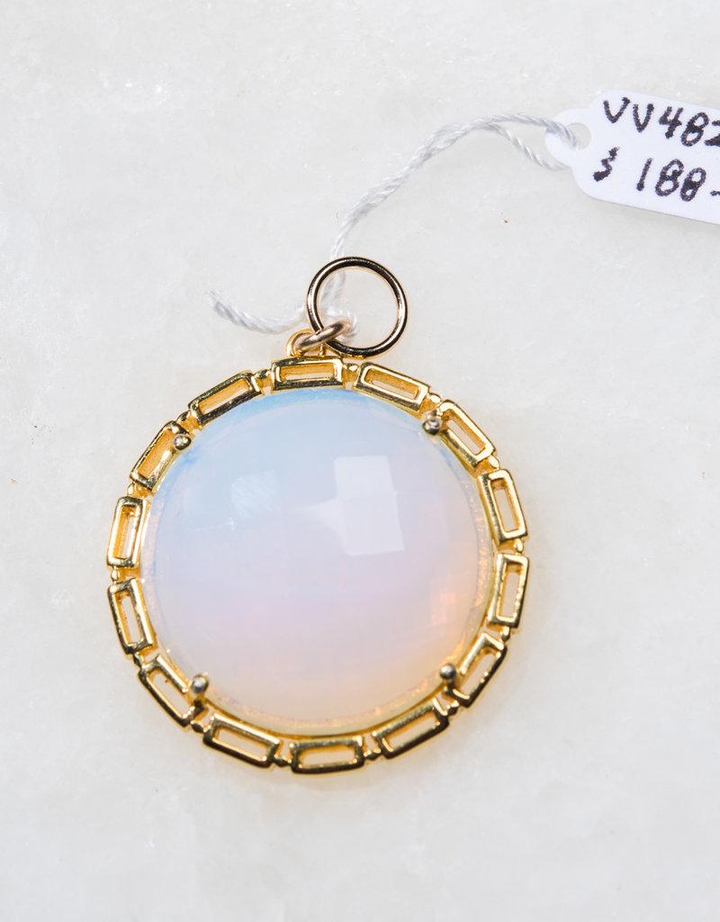 SENNOD Maxine Round Opal Light Vignette