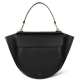 WANDLER Black Hortensia Big Bag