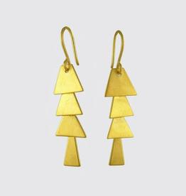 Jane Diaz Pagoda Cascade Earrings
