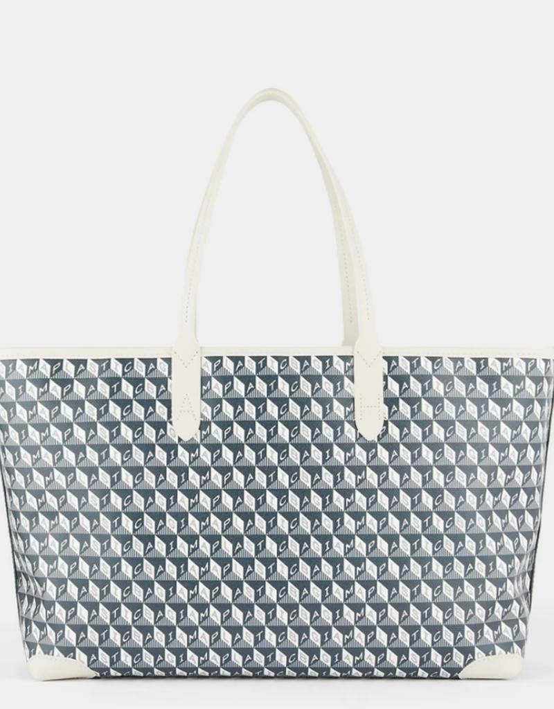 ANYA HINDMARCH I am a Plastic Bag - Small Tote - Charcoal