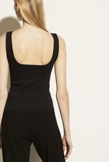 VINCE Ribbed Square Neck Camisole