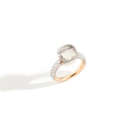 POMELLATO Nudo White Topaz and Diamond Ring