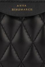 ANYA HINDMARCH Quilted Double Zip Crossbody - Black/Espresso