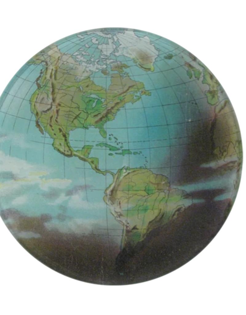 "JOHN DERIAN World Atlas 5 3/4"" Round Plate"