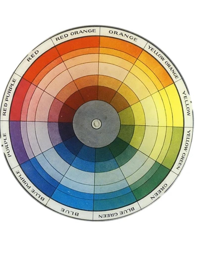 "JOHN DERIAN Color Dictionary 5 3/4"" Round Plate"