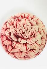 "JOHN DERIAN Camellia 8"" Round Plate"