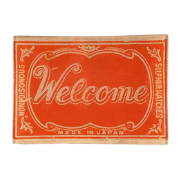 JOHN DERIAN Welcome (Safety Matches) Mini Tray