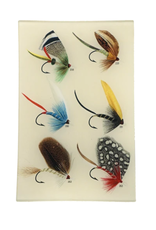 "JOHN DERIAN Bass Flies #258 6 x 9"" Rectangle Tray"