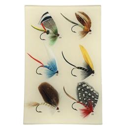 """JOHN DERIAN Bass Flies #258 6 x 9"""" Rectangle Tray"""