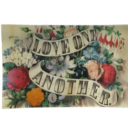 "JOHN DERIAN Love One Another Letter Tray (9 x 14"")"