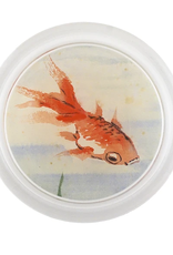 "JOHN DERIAN Light Goldfish 6"" Coaster"