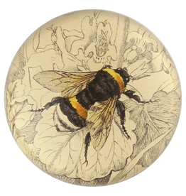 JOHN DERIAN Dome Paperweight -  Common Bumblebee