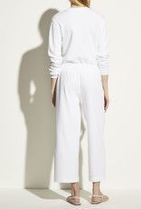 VINCE Cropped Wide Leg Pull On Knit Pant
