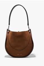 PROENZA SCHOULER Small Arch Shoulder Bag - Chocolate Suede