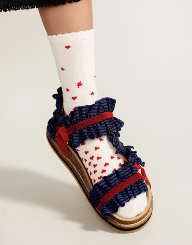 Hansel from Basel Imi Heart Crew Sock