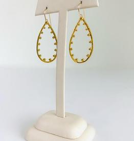 SENNOD Remy Teardrop Earring - Gold