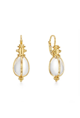 TEMPLE ST CLAIR 18K Classic Crystal Amulet Earrings