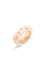 POMELLATO Medium Diamond Iconica Ring