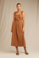 VINCE Poet Strap Knot Front Dress -