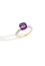 POMELLATO Small Nudo Amethyst and Diamond Ring
